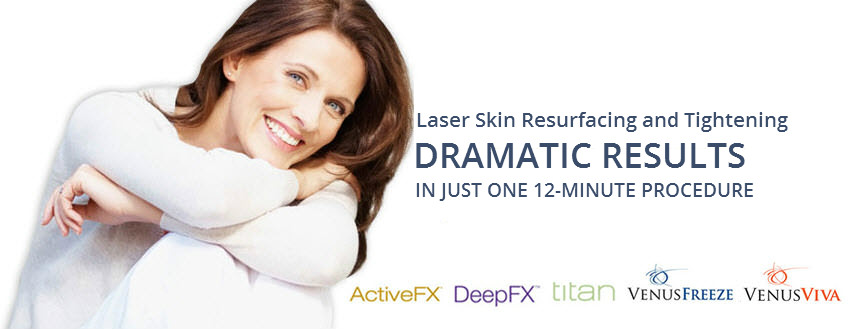 skin resurfacing and tightening treatments
