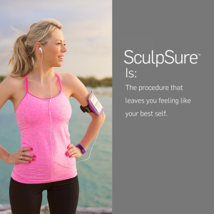 sculpsure for fat resistant to exercise and diet
